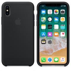Чехол Apple iPhone Xs Max Silicone Case Black Copy