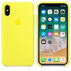 Чехол Apple iPhone X Silicone Case - Flash Copy