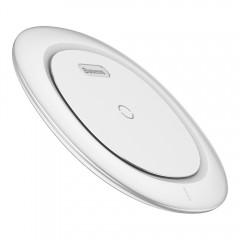 Беспроводное заряное устройство Baseus UFO Desktop Wireless Charger White