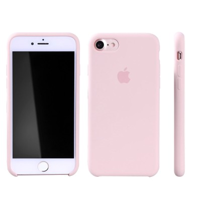 Чехол Apple iPhone 8 Silicone Case - Pink Sand