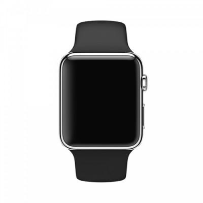 Ремешок Apple Watch 38mm Black Sport Space Gray Pin