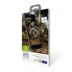 Защитное стекло Baseus 0.23 PET Soft 3D Tempered Glass Film For iPhone 7 Plus Gold