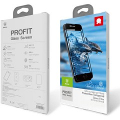 Защитное стекло Baseus 0.2mm silk screen printed full-screen protector For iPhone 7 Plus White