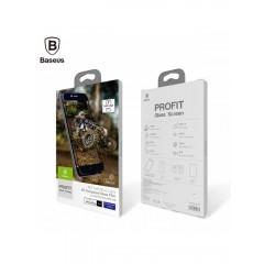 Защитное стекло Baseus 0.23 PET Soft 3D Anti-Blue light Tempered Glass Film for iPhone 7 Pus White