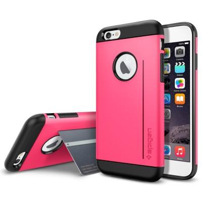 Чехол SGP Case Slim Armor S Series Azalea Pink for iPhone 6