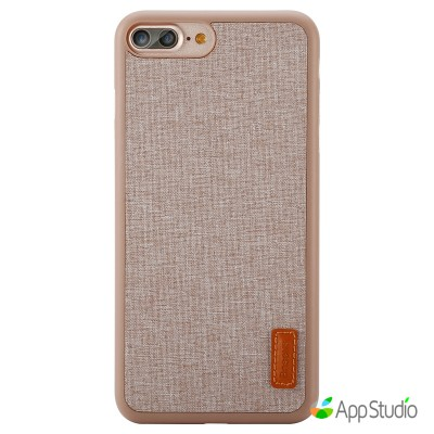 Чехол Baseus Grain Case For iPhone 7 Plus Khaki