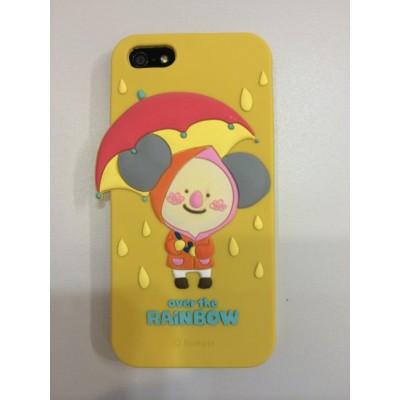 Силиконовый чехол-накладка Hello Geeks Over the Rainbow Бабушка  for iPhone 5/5S