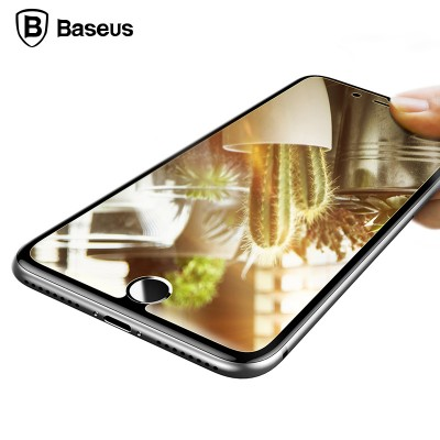 Защитное стекло Baseus Mirror Glass Film For iPhone 7 Transparent