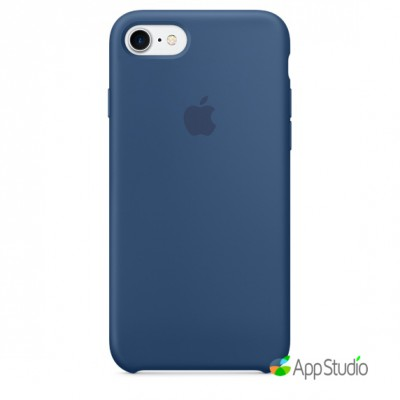 Чехол Apple iPhone 7/8 Silicone Case - Ocean Blue копия