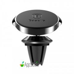 Автодержатель Baseus Small ears series Magnetic suction bracket(Air outlet type)Black