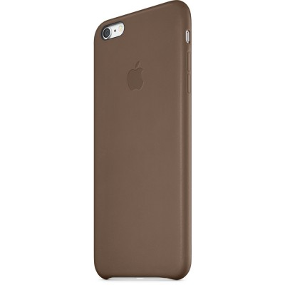 Чехол Apple iPhone 6 Leather Case - Olive Brown