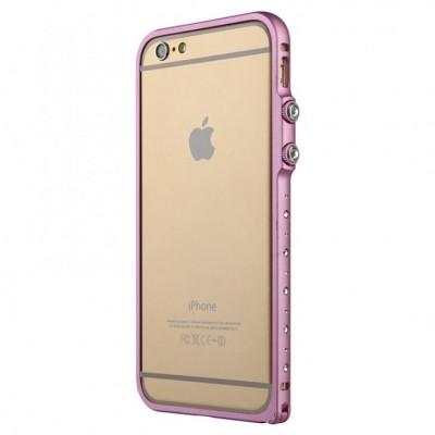 Бампер Baseus Eternal Series For iPhone 6 Plus Pink