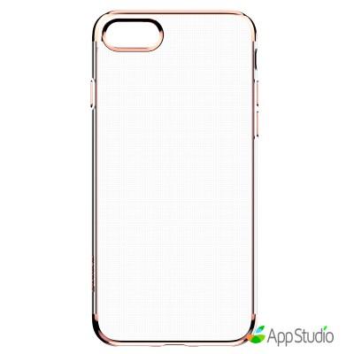 Чехол Baseus Shining Case (TPU) For iPhone 7 Rose Gold