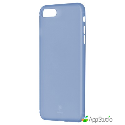 Чехол Baseus Slim Case For iPhone 7 Plus Transparent Blue