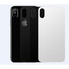 Защитное стекло Baseus 0.3mm Silk-screen Back Glass Film For iPhone X Transparent